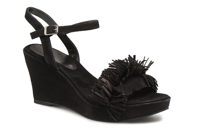Zapatos promocionales Elizabeth Stuart Jany 606 (Negro) - Sandalias   Venta de liquidación de temporada