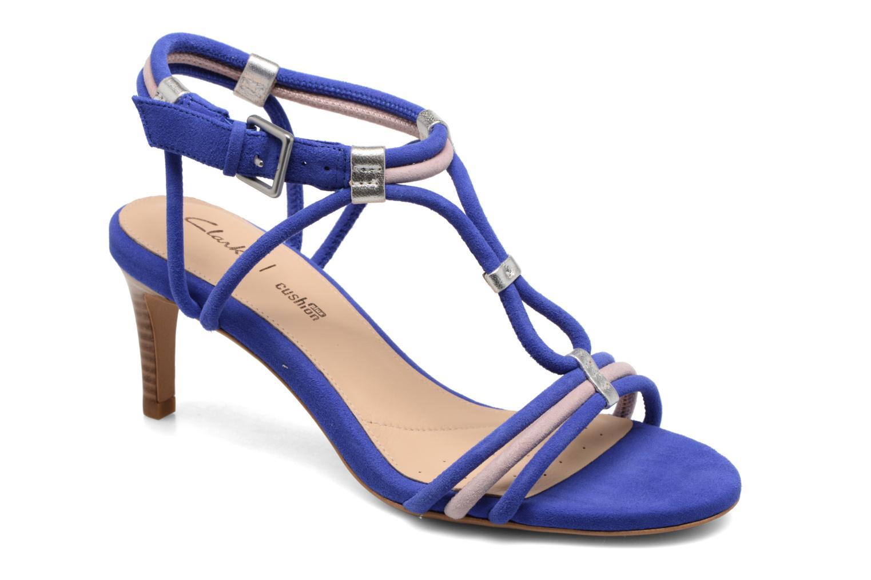 Grandes descuentos últimos zapatos Clarks Amali rose (Azul) - Zapatos de tacón Descuento