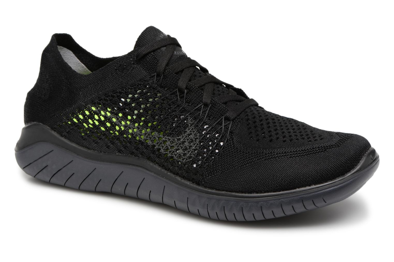Nike Nike Free Rn Flyknit 2018 (Noir) - Chaussures de sport chez Sarenza (327336)