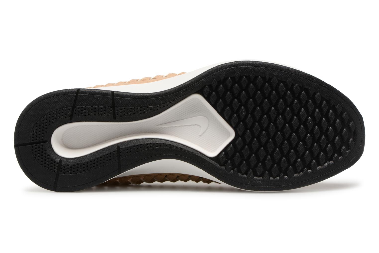 Sneaker Nike W Dualtone Racer Woven beige ansicht von oben