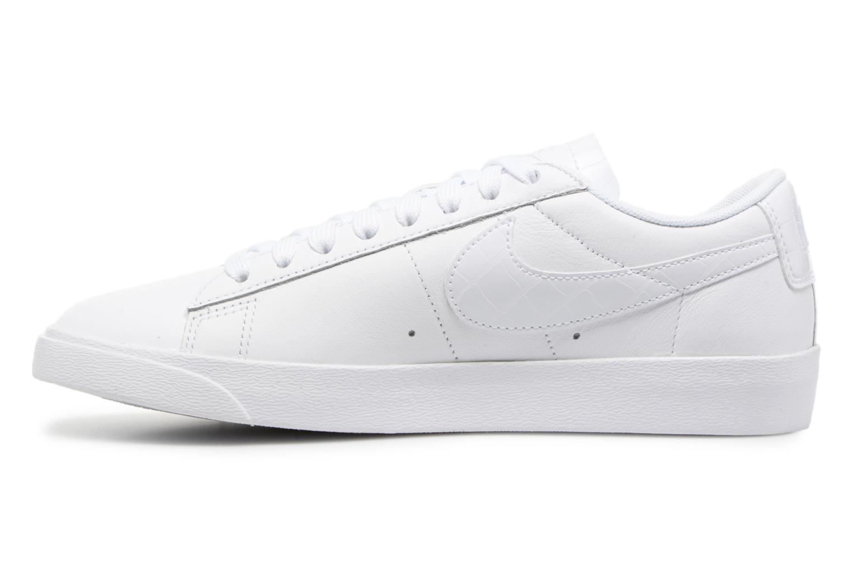 Sneakers Nike W Blazer Low Ess Wit voorkant