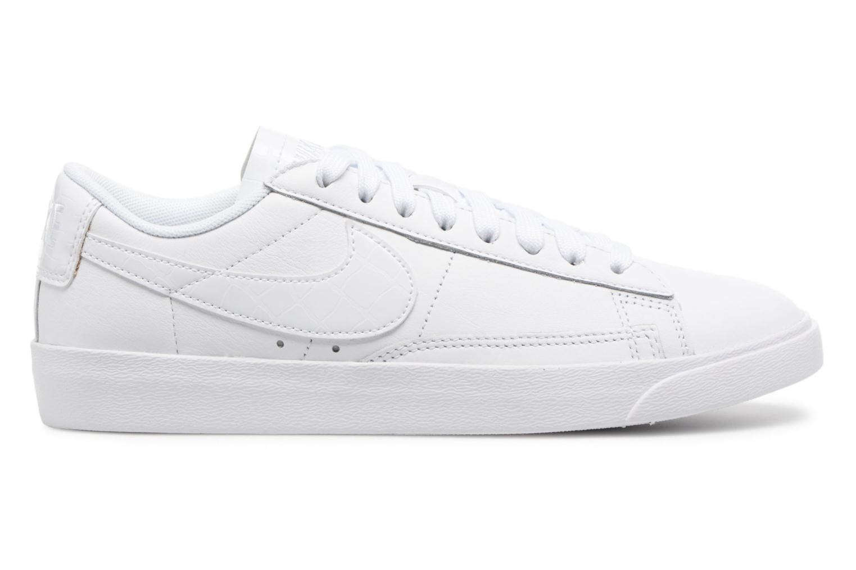 Sneakers Nike W Blazer Low Ess Wit achterkant