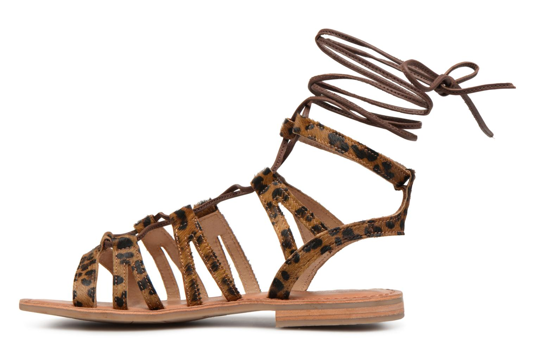 Sandales et nu-pieds Les Tropéziennes par M Belarbi HERCLEO Multicolore vue face