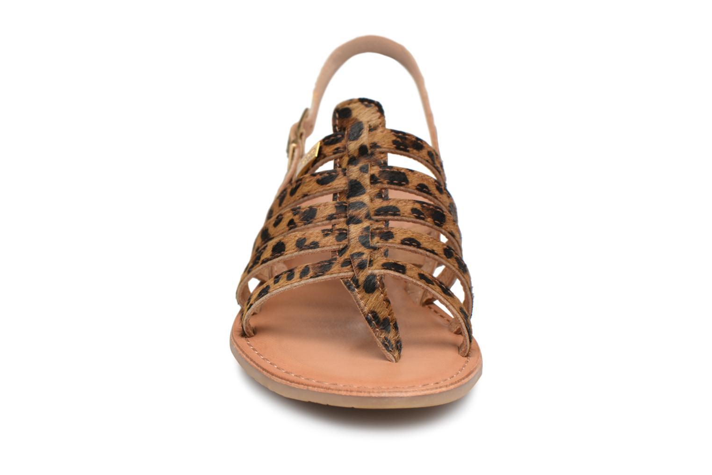 Sandales et nu-pieds Les Tropéziennes par M Belarbi HERILEO Multicolore vue portées chaussures