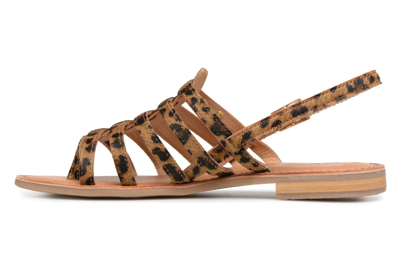 Sandales et nu-pieds Les Tropéziennes par M Belarbi HERILEO Multicolore vue face
