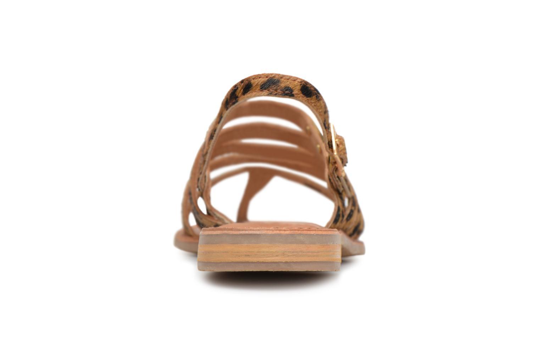 Sandales et nu-pieds Les Tropéziennes par M Belarbi HERILEO Multicolore vue droite