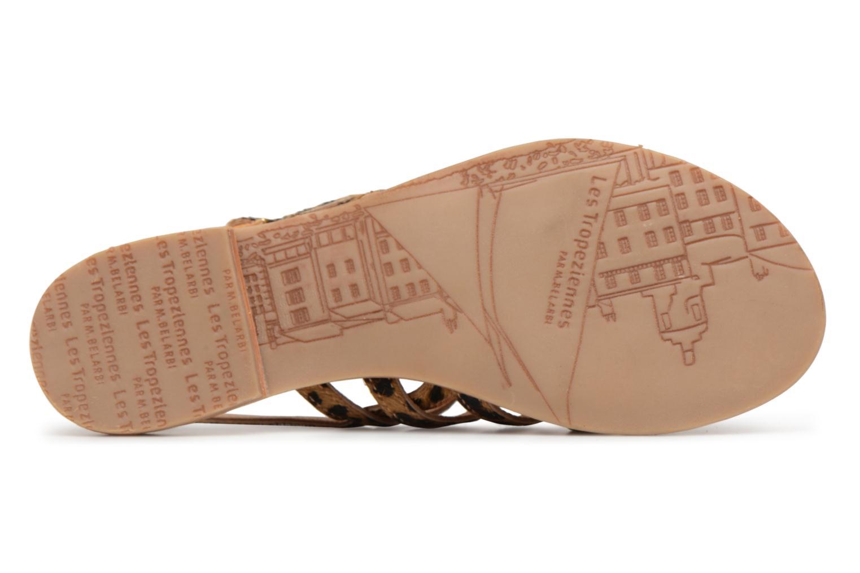 Sandales et nu-pieds Les Tropéziennes par M Belarbi HERILEO Multicolore vue haut