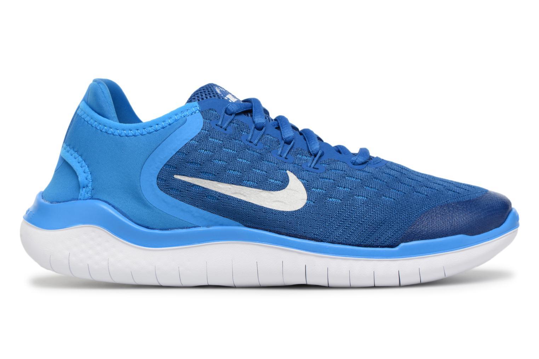 Chaussures de sport Nike Nike Free Rn 2018 (Gs) Bleu vue derrière