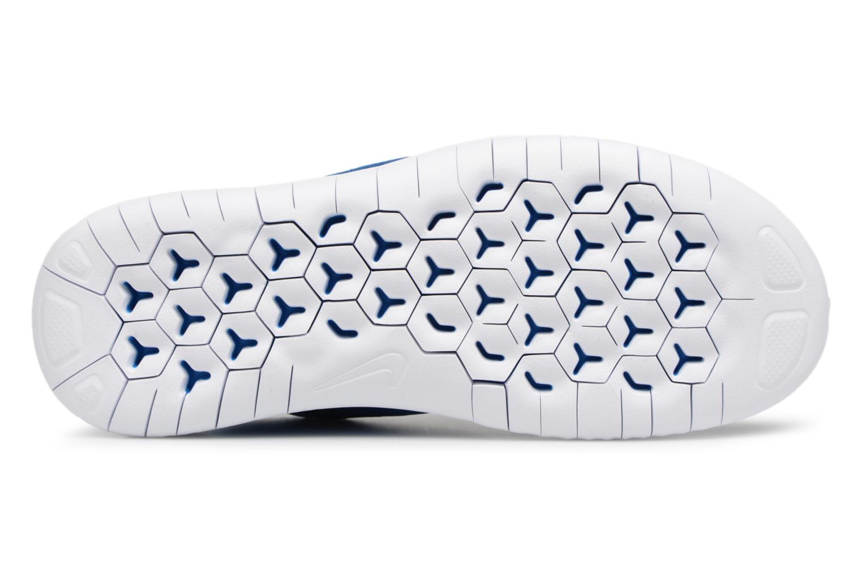 Chaussures de sport Nike Nike Free Rn 2018 (Gs) Bleu vue haut