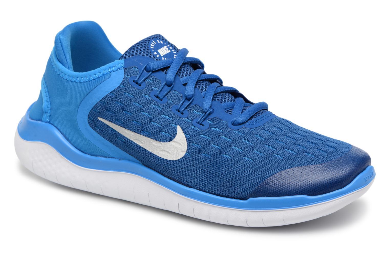 Chaussures de sport Nike Nike Free Rn 2018 (Gs) Bleu vue détail/paire