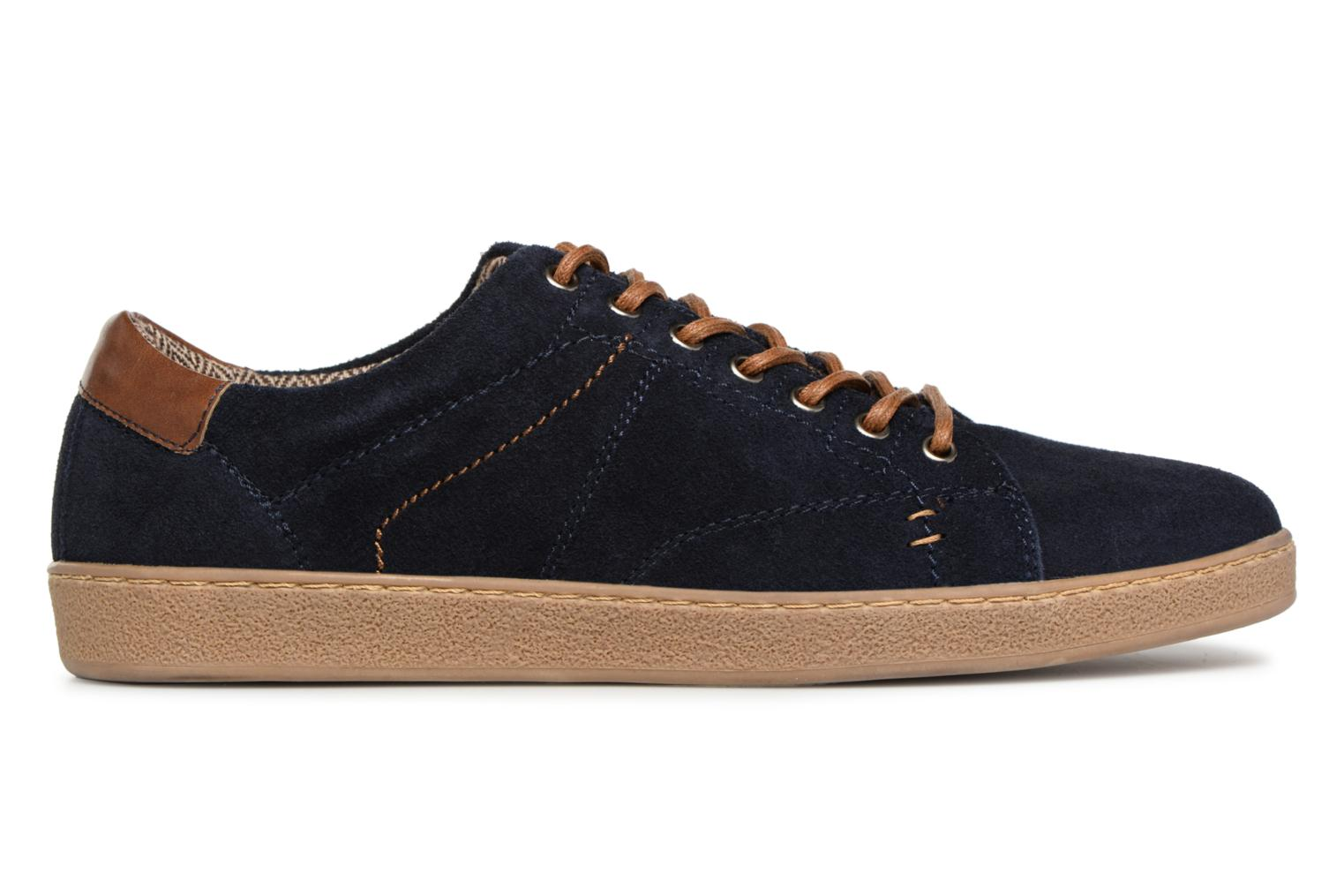 KEPHANE Leather Navy Love Shoes I w0qnZTBv