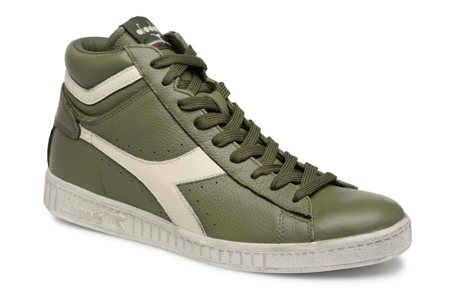 Diadora GAME L HIGH WAXED (Vert) - Baskets chez Sarenza (328977)