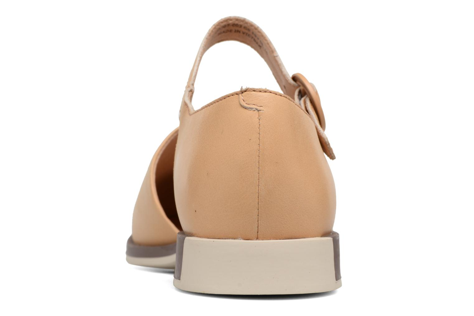 Ballet pumps Camper Bowie babies Beige view from the right