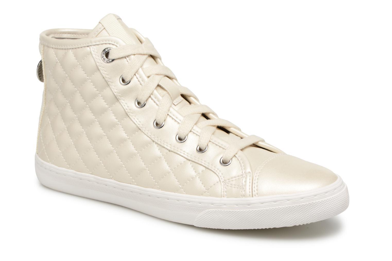 Grandes descuentos últimos zapatos Geox D NEW CLUB A D4258A NF (Blanco) - Deportivas Descuento