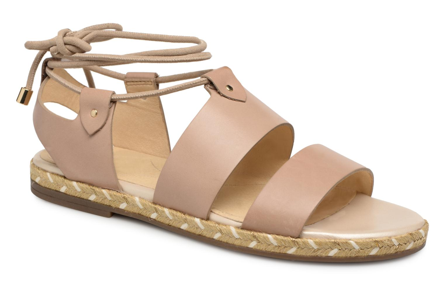 Marques Chaussure femme Geox femme D KOLLEEN A D725SA Taupe P?le
