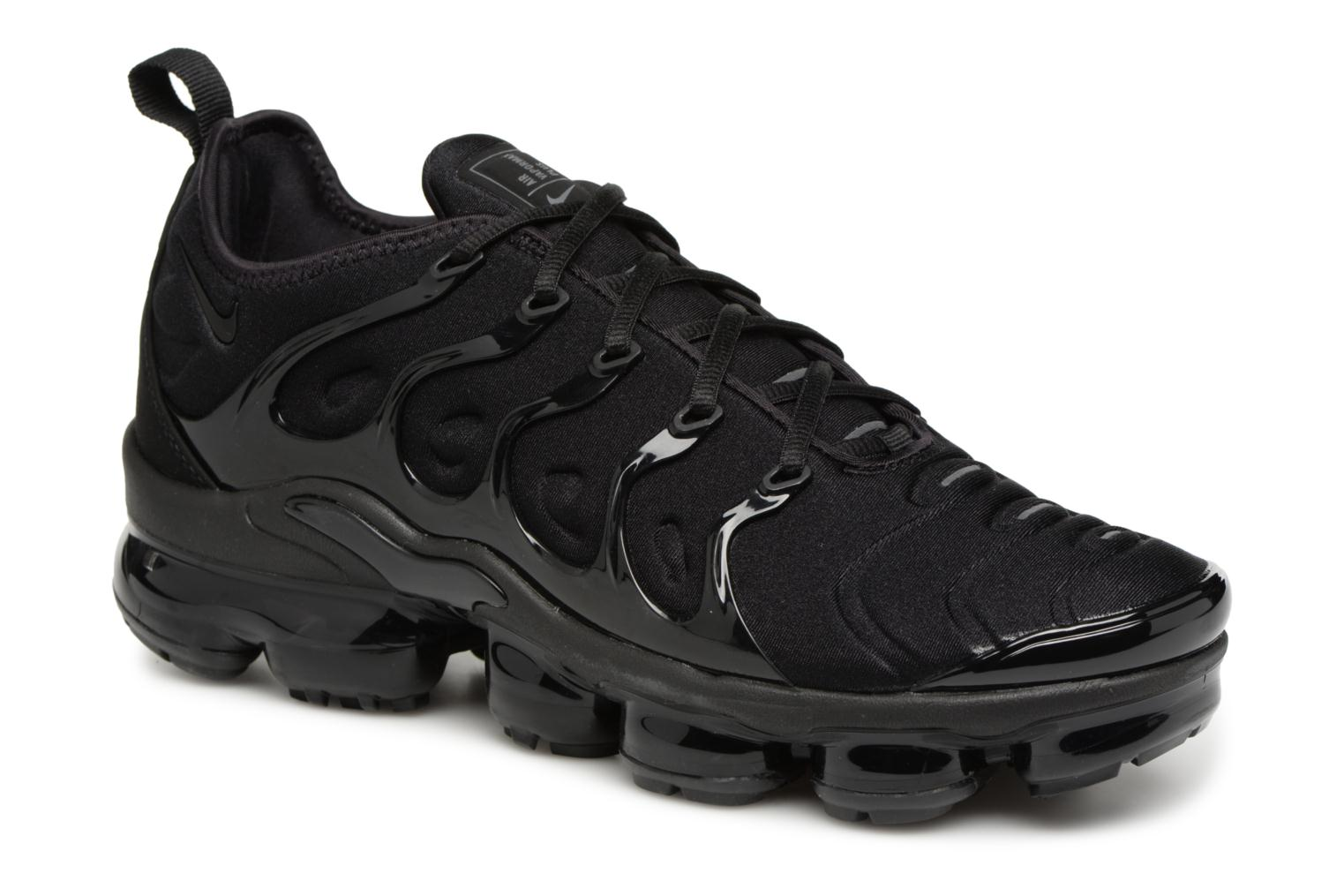 low priced 3f03a a75a1 Baskets Nike Air Vapormax Plus Noir vue détail paire
