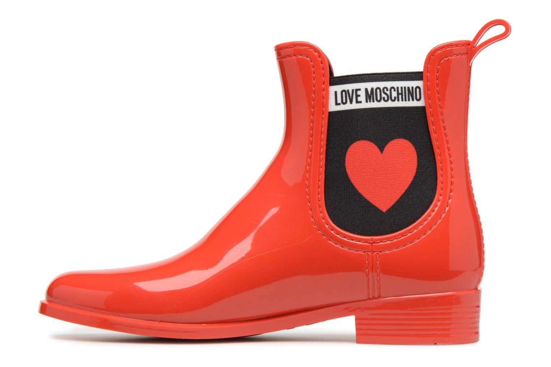 Love Moschino Rain Plain Anckle Boot