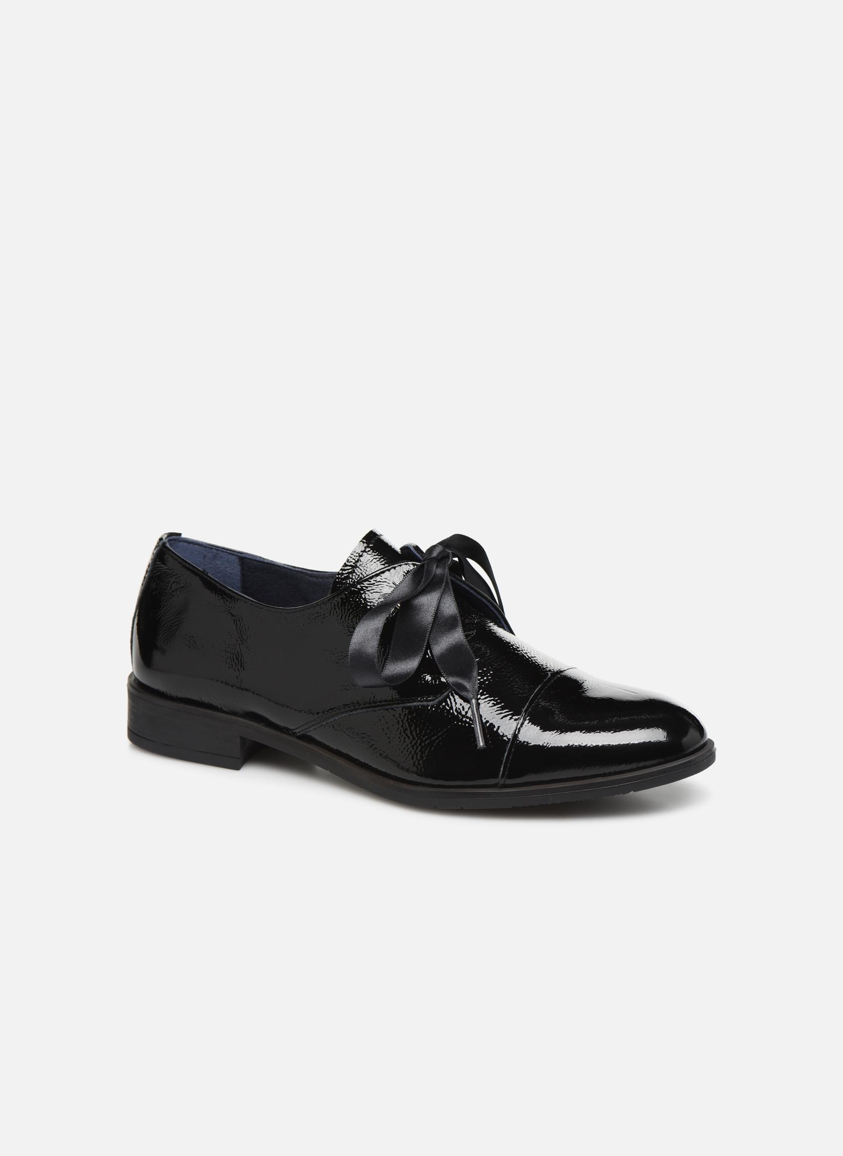 Zapatos casuales salvajes Dorking Vesna 7631 (Negro) - Zapatos con cordones en Más cómodo