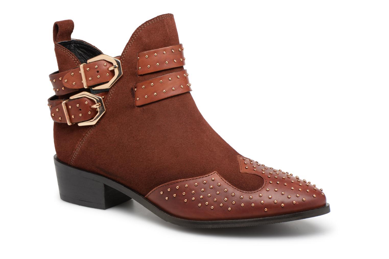 7e560aa2 ... Grandes descuentos últimos zapatos Bronx BTEX-CHUNKYX (Naranja) -  Botines Descuento