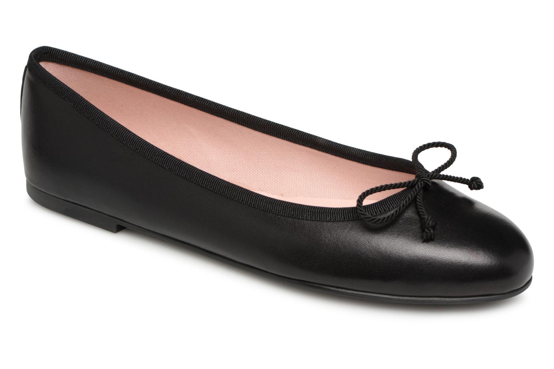 modelo más vendido de la marca Pretty Ballerinas COTON (Negro) - Bailarinas en Más cómodo