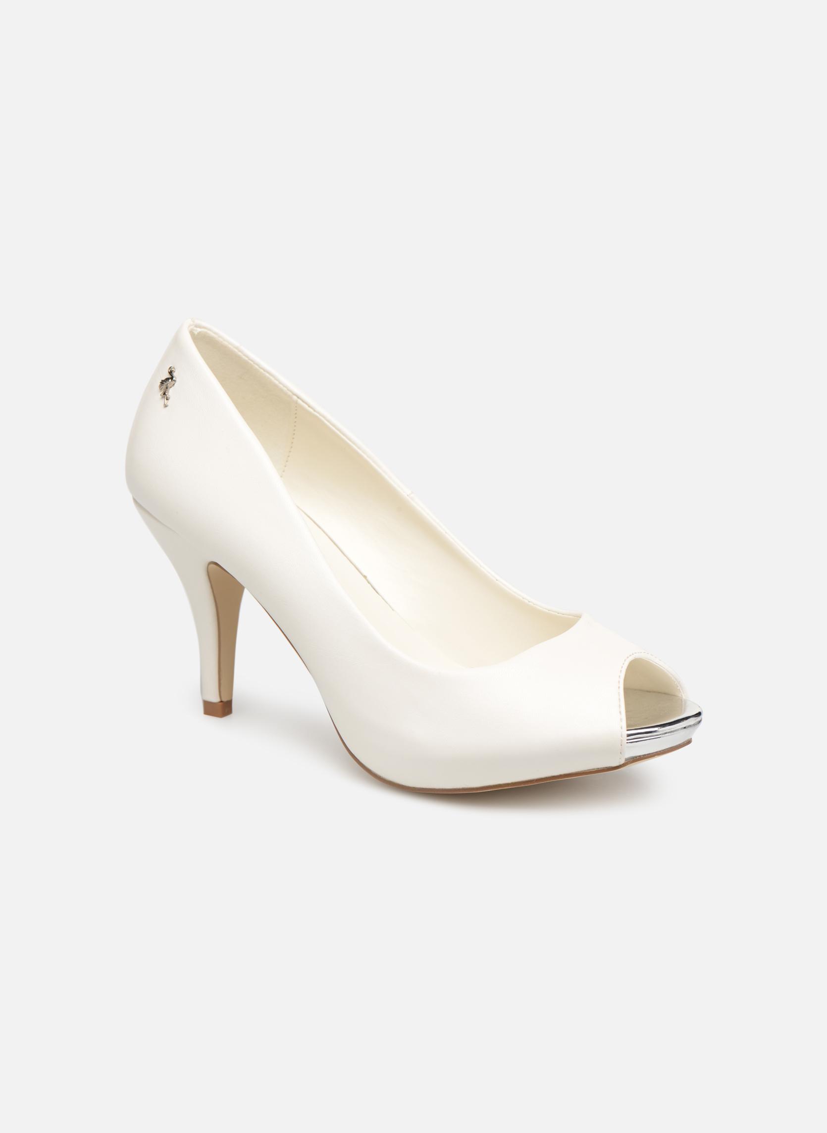 Casual salvaje Menbur 6808 (Blanco) - Zapatos de tacón en Más cómodo