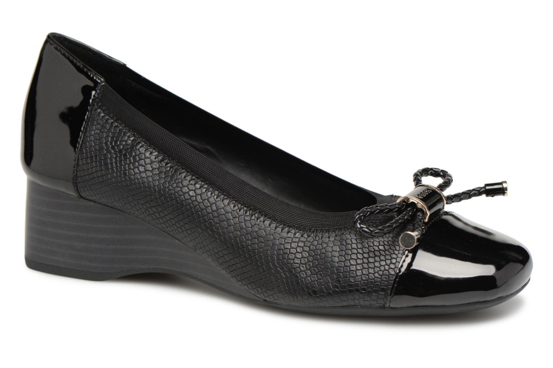 Grandes descuentos últimos zapatos Geox D AUDALYA A D849QA (Negro) - Bailarinas Descuento
