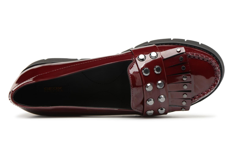 Grandes descuentos últimos zapatos Geox D BLENDA B D840BB (Vino) - Mocasines Descuento