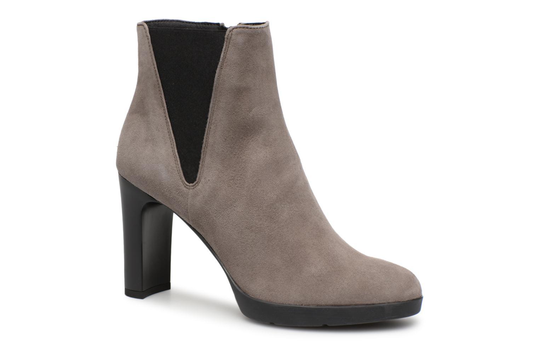 Nuevos zapatos para hombres y mujeres, descuento por tiempo limitado Geox D ANNYA HIGH H D84AEH (Gris) - Botines  en Más cómodo