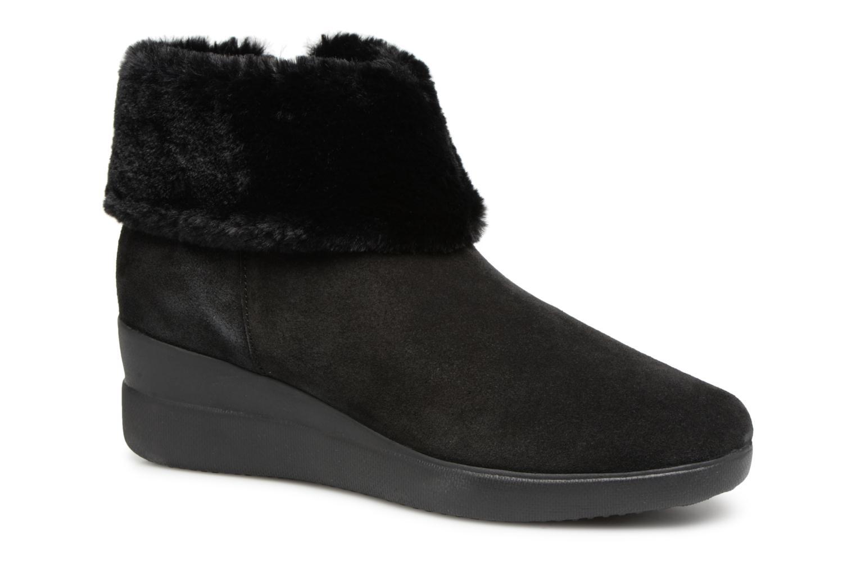 Zapatos de mujer baratos zapatos de mujer Geox D STARDUST C D843OC (Negro) - Botines  en Más cómodo