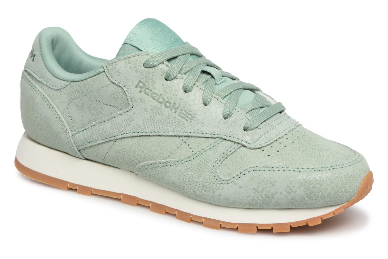 Grandes descuentos últimos zapatos Reebok CL LTHR (Verde) - Deportivas Descuento