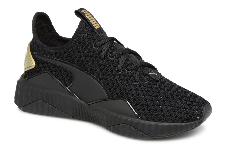 Zapatos de hombres y mujeres de moda casual Puma Defy Ns (Negro) - Deportivas en Más cómodo