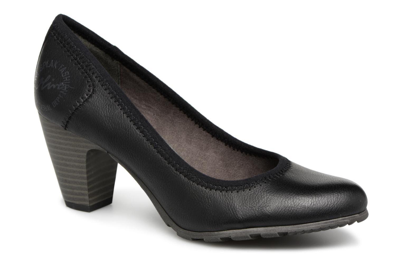 Grandes descuentos últimos zapatos S.Oliver LARISSA SUEDE (Negro) - Zapatos de tacón Descuento