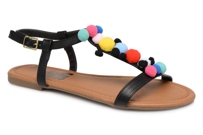 Refresh 63593 (Noir) - Sandales et nu-pieds chez Sarenza (337264)