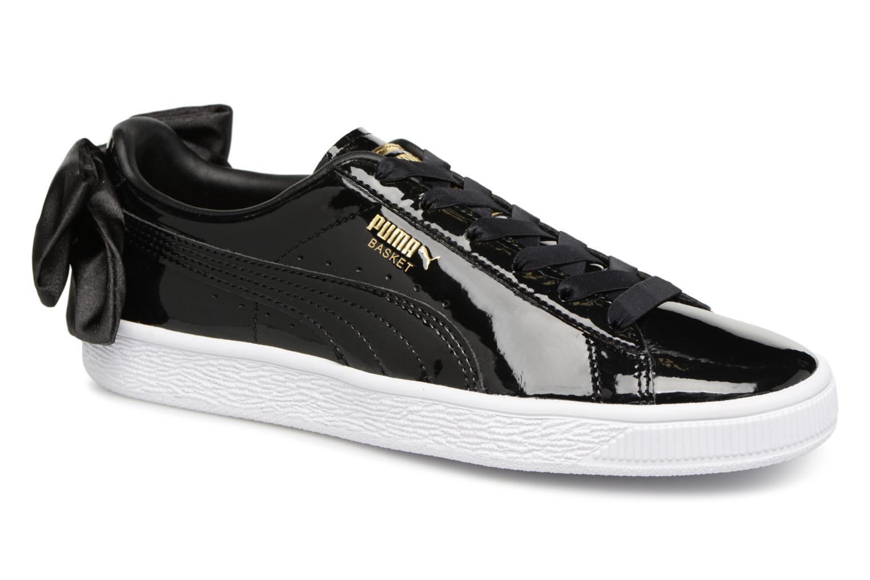 Grandes descuentos últimos zapatos Puma Basket Bow Patent (Negro) - Deportivas Descuento