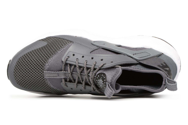 Sneaker Nike Air Huarache Run Ultra (GS) grau ansicht von links