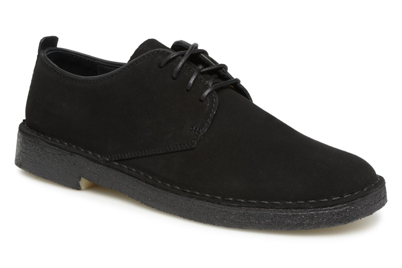 Clarks Originals Desert London M (Noir) - Chaussures à lacets chez Sarenza (338355)