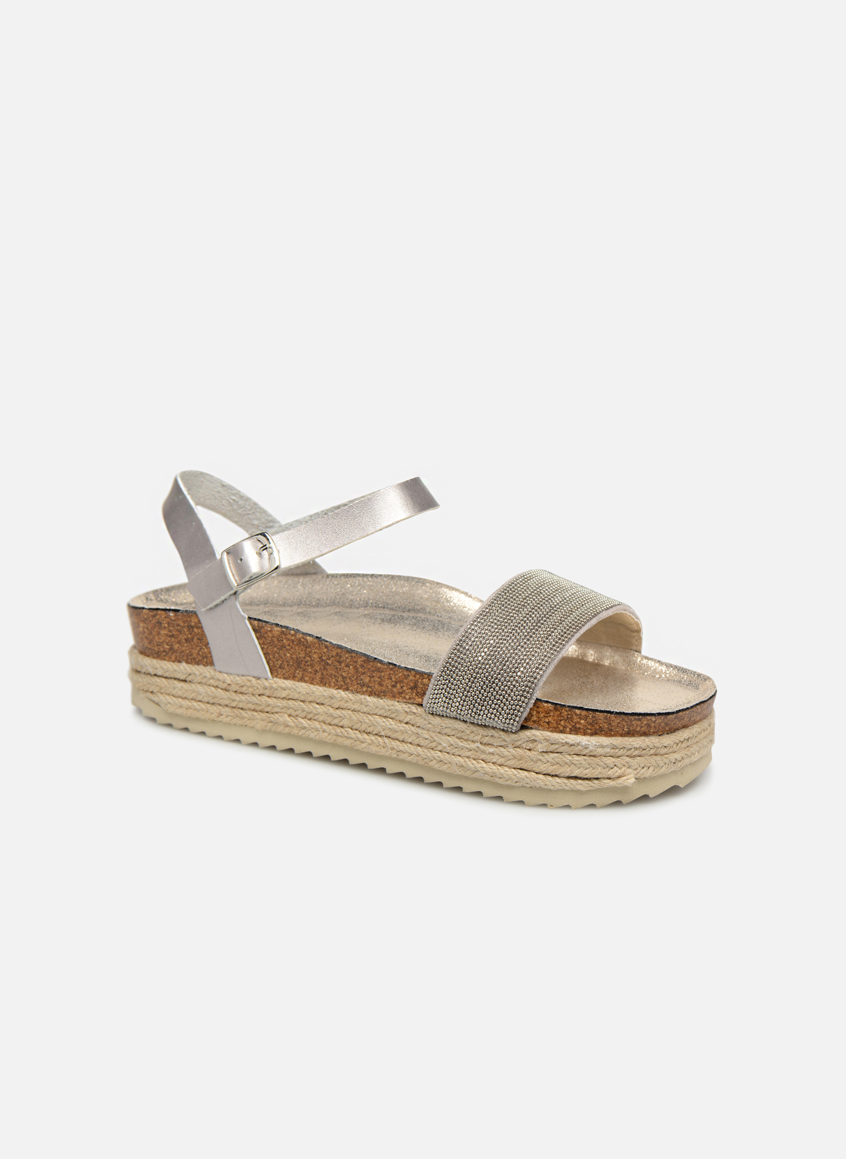 Zapatos promocionales Xti 48073 (Plateado) - Sandalias   Casual salvaje