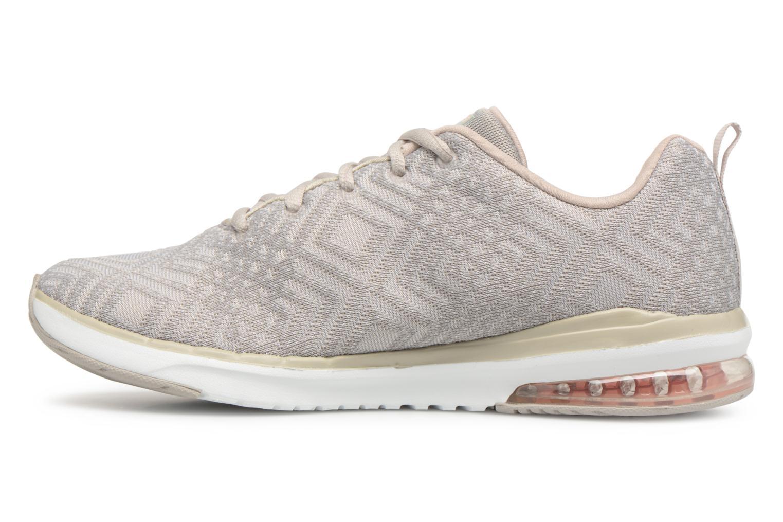 Zapatos de hombres y mujeres de moda casual Skechers Skech-Air Infinity All Aglow (Gris) - Zapatillas de deporte en Más cómodo