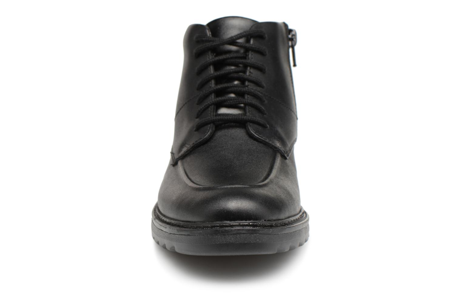 Asher Black Clarks Clarks Clarks leather Black Street Asher leather Street WW8YqOSw