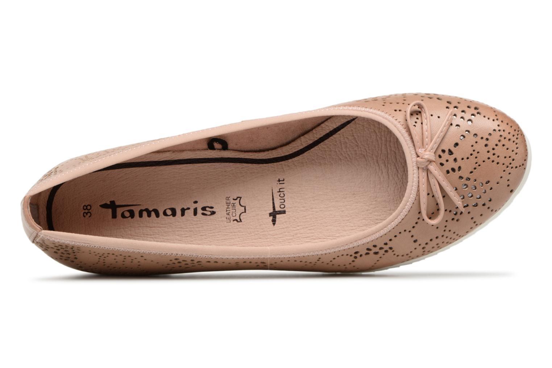88c1140a5 Zapatos promocionales promocionales promocionales Tamaris 22124 (Rosa)  Bailarinas Descuento de 7a104a