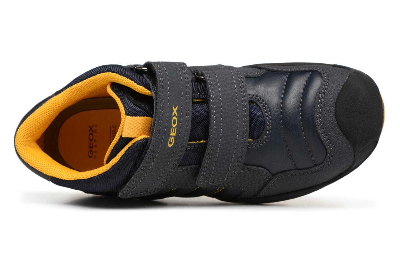 J841VC Geox New Savage J Navy yellow Boy xxRwUpqfv