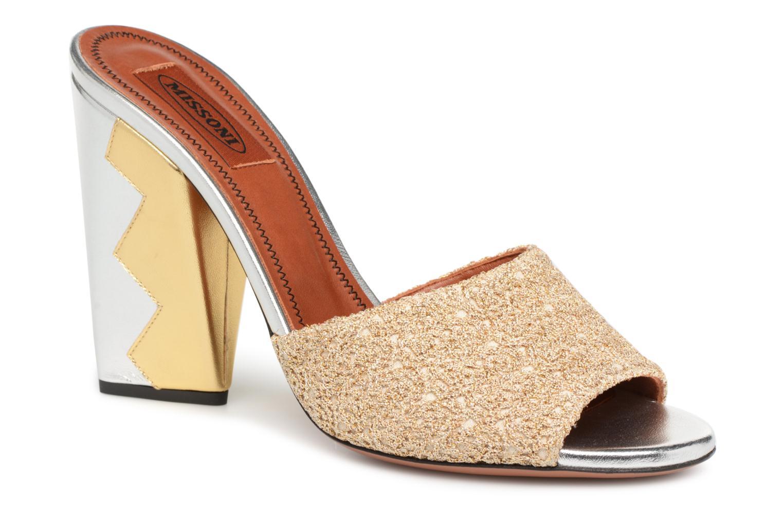 Grandes descuentos últimos zapatos Missoni MS3235.245 (Oro y bronce) - Zuecos Descuento