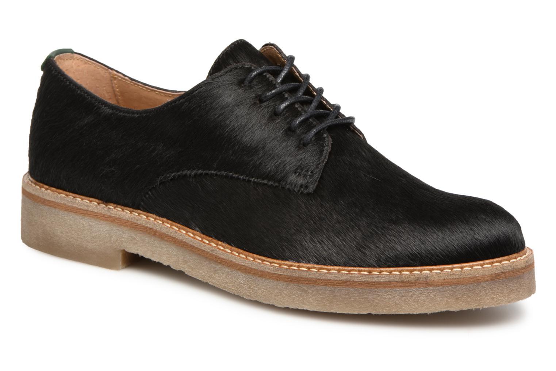 Grandes descuentos últimos zapatos Kickers OXFORKPONY (Negro) - Zapatos con cordones Descuento