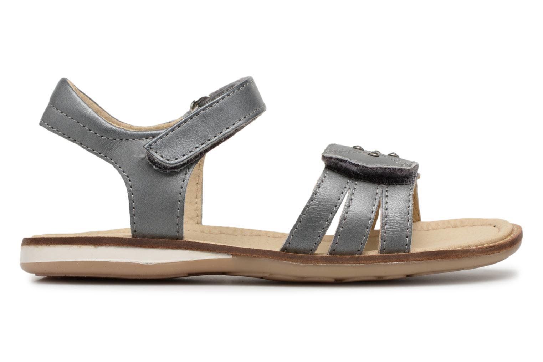 Sandales et nu-pieds Noël SIRI Gris vue derrière