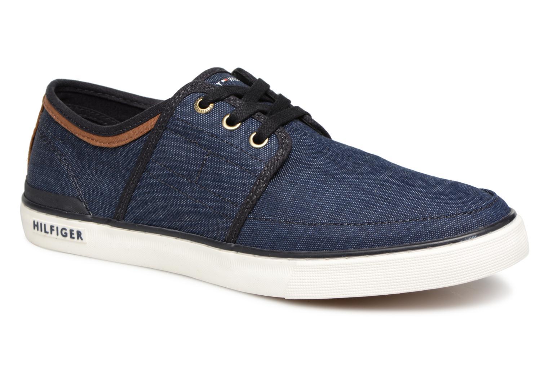 Grandes descuentos últimos zapatos Tommy Hilfiger Core Seasonal Textile Sneaker (Azul) - Deportivas Descuento