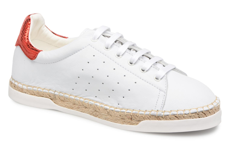 Zapatos promocionales Canal St Martin LANCRY PE18 (Blanco) - Deportivas   Venta de liquidación de temporada