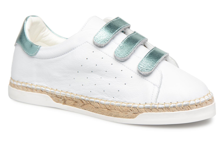 Zapatos promocionales Canal St Martin LANCRY SCRATCH (Blanco) - Deportivas   Zapatos de mujer baratos zapatos de mujer