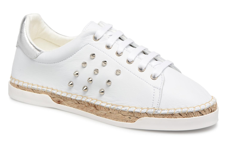 Grandes descuentos últimos zapatos Canal St Martin LANCRY STUDS (Blanco) - Deportivas Descuento