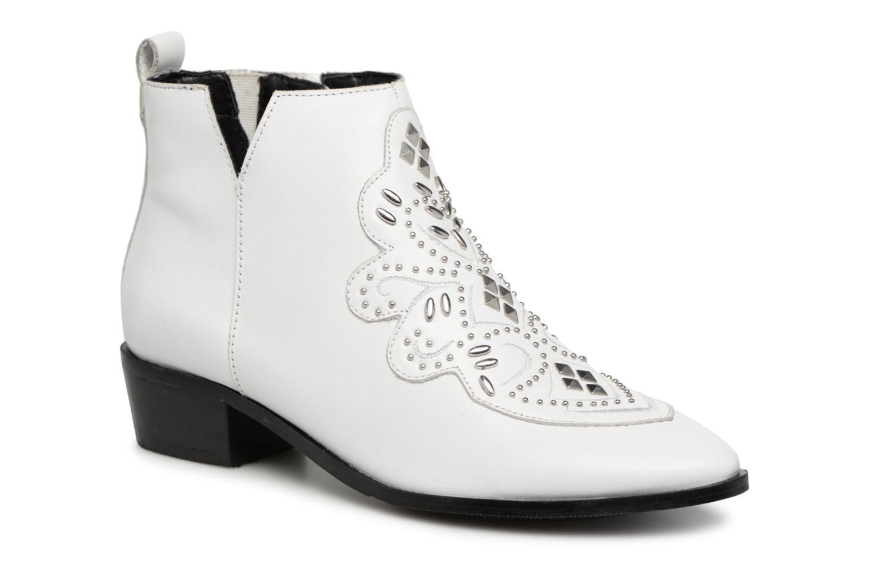 Grandes descuentos últimos zapatos Bronx Btex-Chunky 47036 (Blanco) - Botines  Descuento