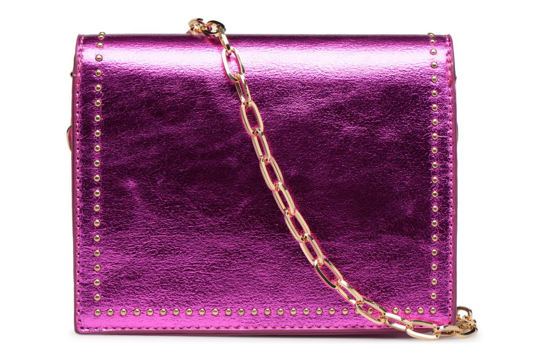 Handtaschen Street Level Mettalic chainstrap crossbody rosa ansicht von vorne